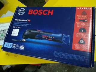 Bosch GOP12V-LI Cordless Multi-Cutter (Bare Unit)