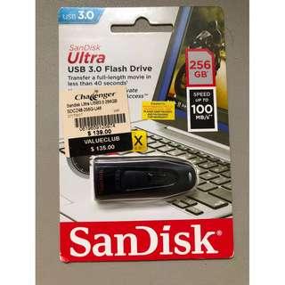 #brand new# SanDisk Ultra USB 3.0 Flash Drive - 256GB - local warranty
