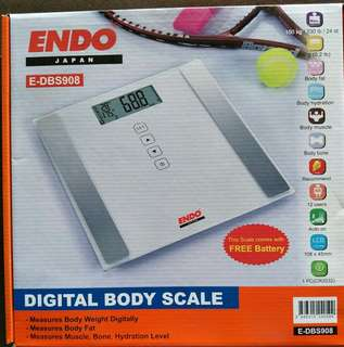 Endo Digital Body Scale, Weighing Machine