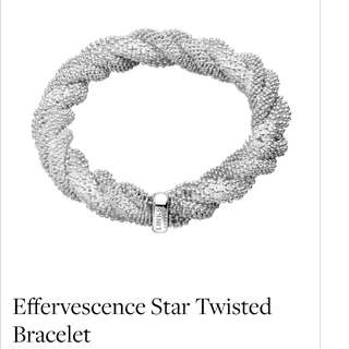 Links of London - Effervescence Star twisted Bracelet **Ending in 10 hours **