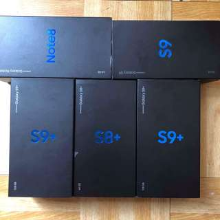 Samsung galaxy s8-s9plus