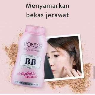 Authentic Ponds BB powder fresh from thailand