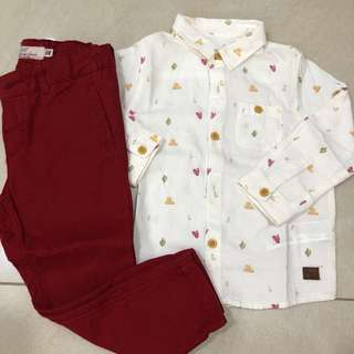Authentic Zara Set- WITH POSTAGE