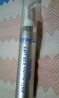 Retinol anti aging eye cream