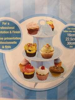 cupcake stand(blue)杯子蛋糕架
