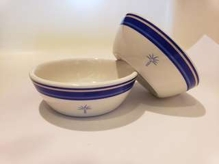 Singapore Airlines Business class Givenchy ceramic condiment / sauce dish