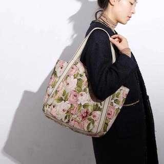 Japanes Gobelin Shoulder Bag