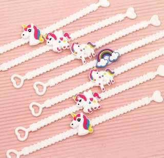 Brand new Unicorn bracelets for Parties!