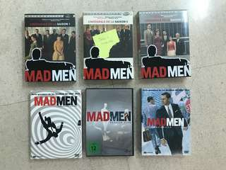 Mad Men Series - English and French or Spanish