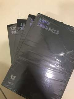 [WTS] BTS LOVE YOURSELF TEAR UNSEALED ALBUM