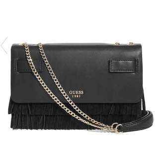 Guess Cate Fringe Crossbody Bag