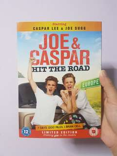 Joe and Caspar Hit The Road Limited Edition DVD + Poster + Wristband