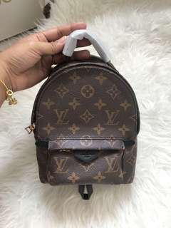 Customer's purchased, LV Palmspring mini Bagpack