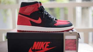 Air Jordan 1 Retro Flyknit Banned