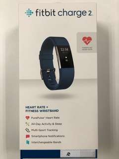 Quick sale Fitbit Charge 2 Blue New