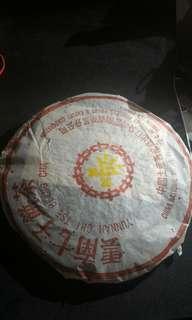 🚚 04年  雲南普洱茶餅  熟茶