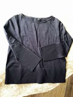 COS 💯 Wool navy blue top size S