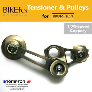 BIKEfun Chain Tensioner & Pulleys (for 1/3/5-speed Bromptons)