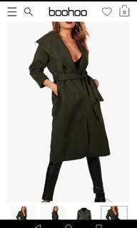 Boohoo Coat NEW!