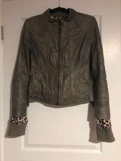 Bod and Christensen leather jacket