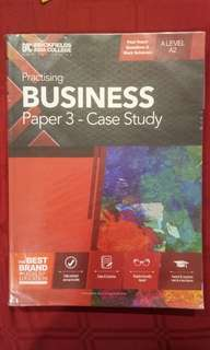 Business Case Study A2 Practising Book