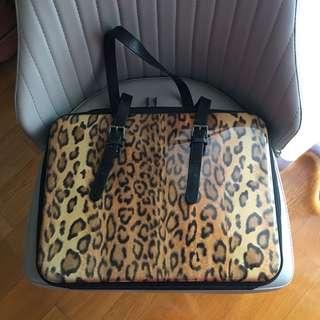 Hideo Wakamatsu Leopard Hard Case Attache
