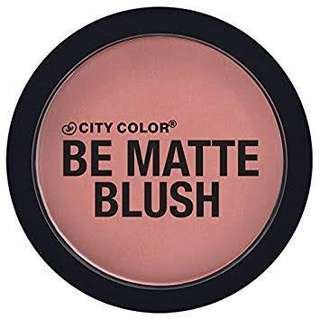 City Girl Be Matte Blush in Guava