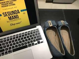 Parisian Denim Shoes