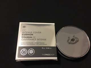 BRAND NEW THE FACE SHOP CC intense cover cushion V103