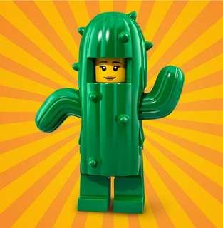 Lego Minifigures Series 18 Cactus Girl