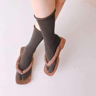 🚚 日本京都購入❤️復古懷舊木屐拖鞋25cm