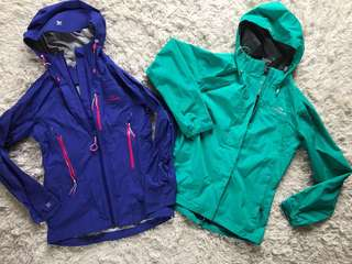 2x Kathmandu waterproof jackets