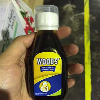 woods cough syrup