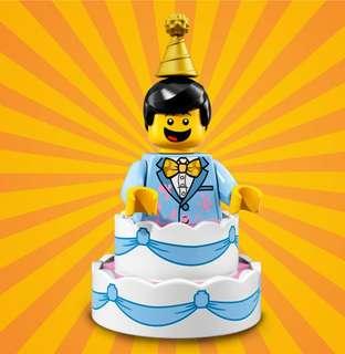 Lego Minifigures Series 18 Birthday Cake Guy
