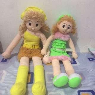 boneka, dapet 2