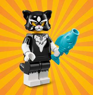 Lego Minifigures Series 18 Cat Suit Girl