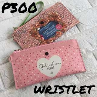 WRISTLET WITH BIBLE VERSE