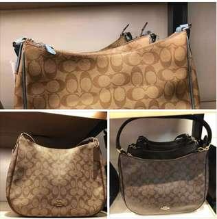Coach shoulder bag plus sf