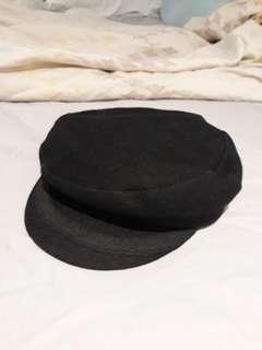 Vintage newspaper-boy cap
