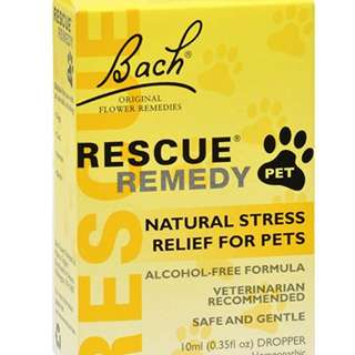 Pet Stress Relief Solution (Bach Rescue Remedy) 10 ml