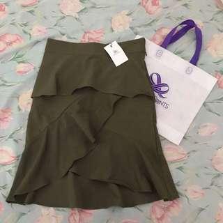 plains and prints skirt