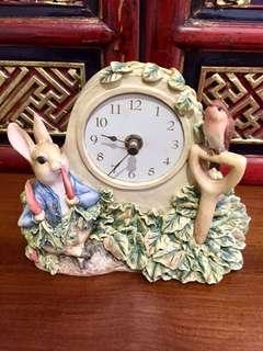 Delightful Peter Rabbit Clock