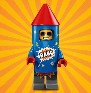 Lego Minifigures Series 18 Rocket Guy