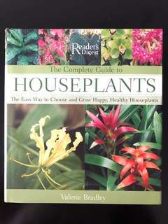 Brand New Reader's Digest complete guide to Houseplants
