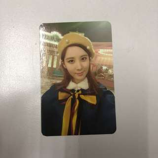 [WTS] SNSD TTS-DearSanta Photocard