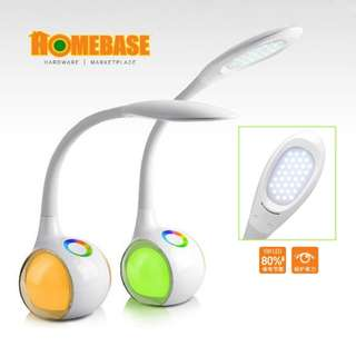 LED EYE PROTECTION COLOUR CHARGEABLE TABLE LAMP