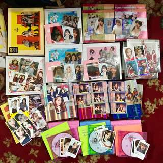 Twice albums with photocards