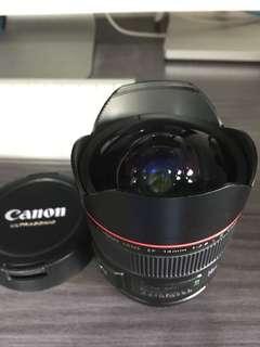 Canon 14mm f2.8 ll USM