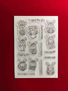 Animals stamps #24 scrapbook Clear Stamps