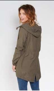 Parka jacket with hoodie